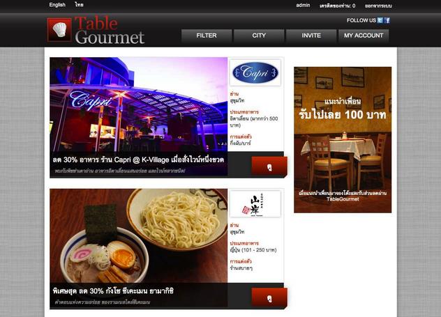 TableGourmet Screenshot #1