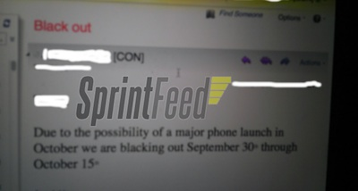 sprint-memo