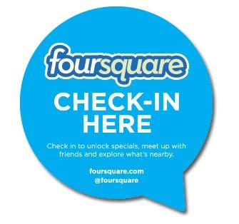 Foursquare-Checkin