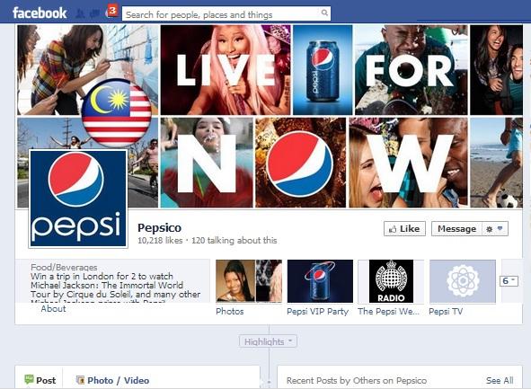 PepsiFacebook