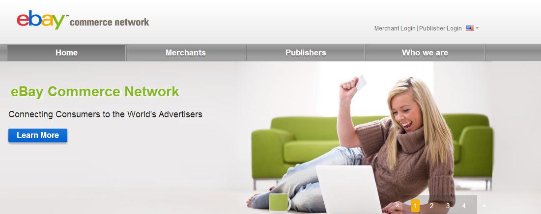 eBay รีแบรนด์ Shopping dot com เป็น eBay Commerce Network