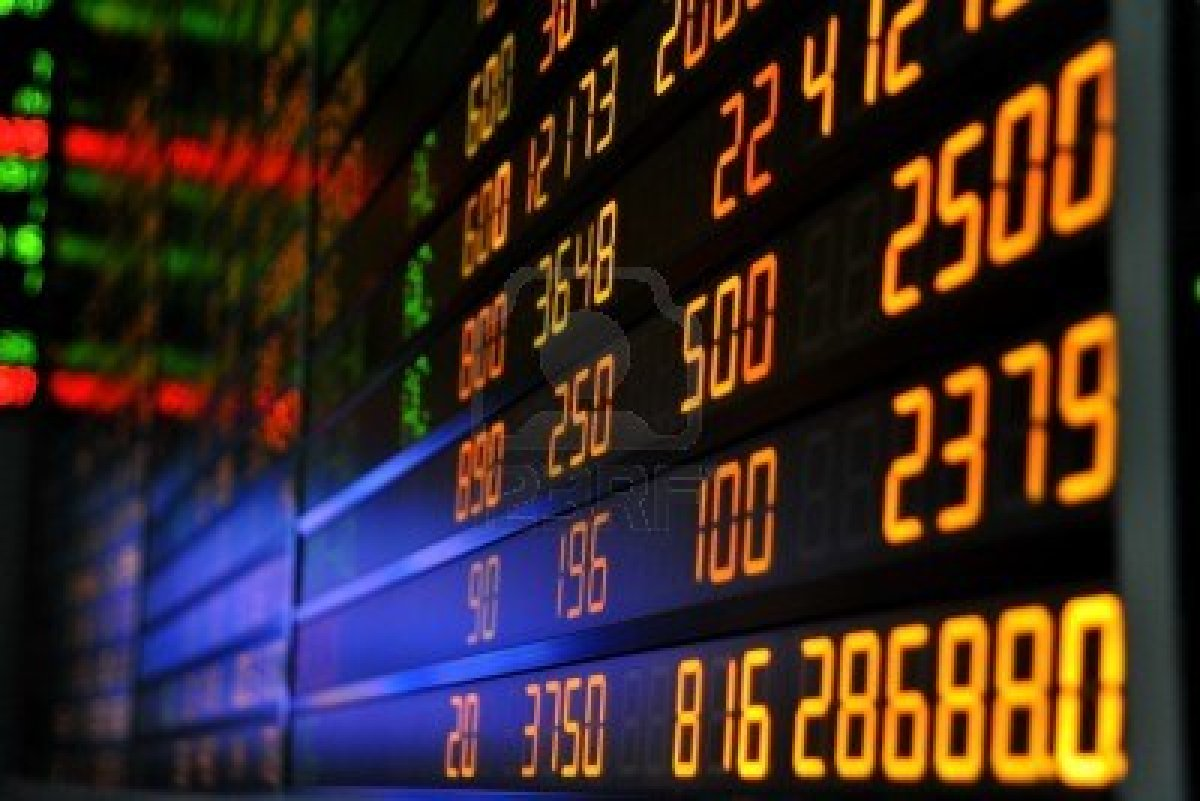 8622626-display-of-stock-market-quotes