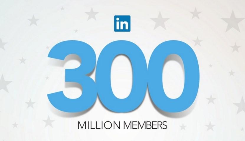 Linkedin 300 Million Users