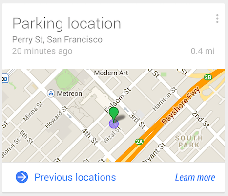 google-now-parking