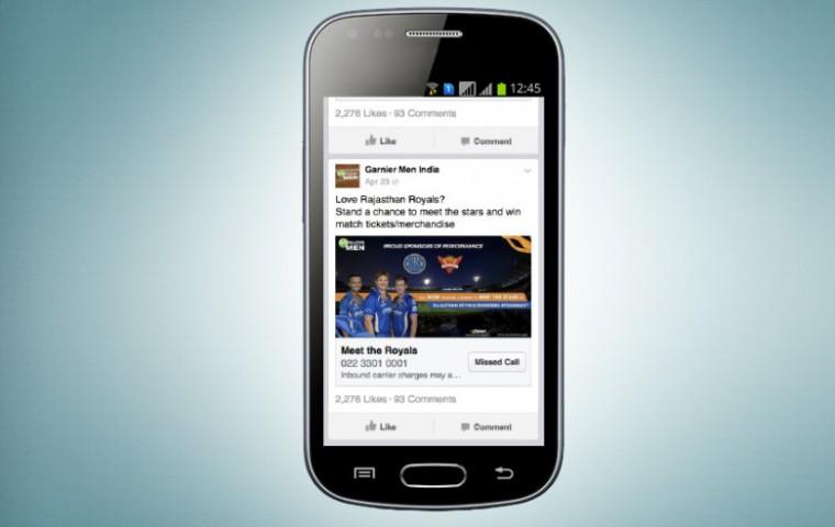 facebook-missed-call-ad-unit