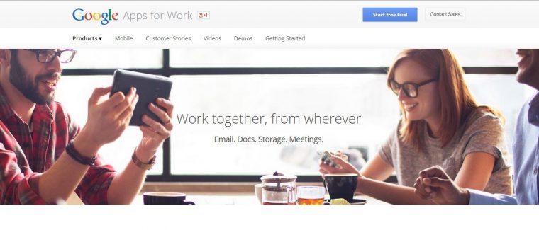 Capture google for work