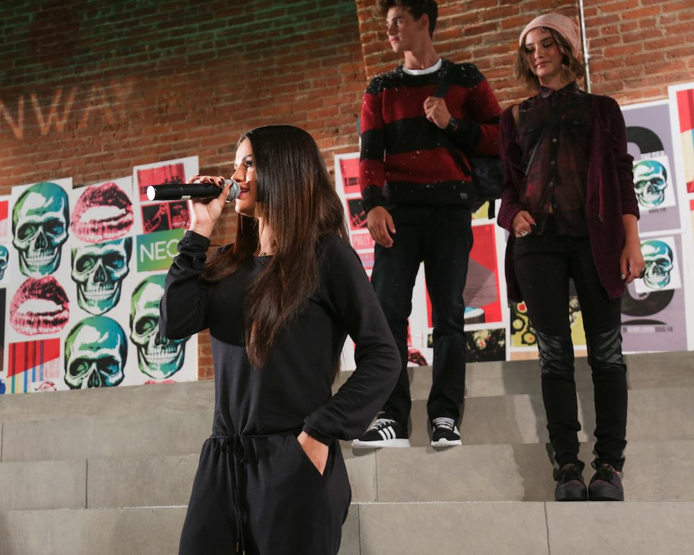 ADIDAS NEO Label #NEOrunway show with SELENA GOMEZ
