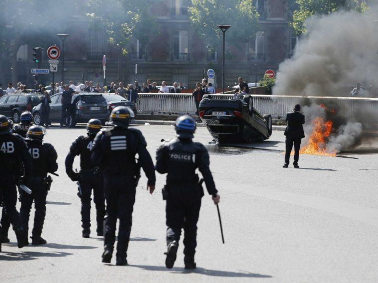 france-taxi-protests