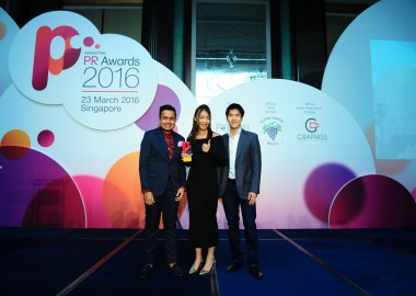 PR Awards 2016_Dentsu media Thailand wins gold