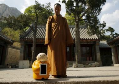 หุ่นยนต์น้อย Xian'er (ขอบคุณภาพจากรอยเตอร์)