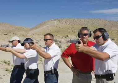การทดสอบปืนของ iGun Technology