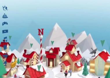 Santa's Village ของ NORAD